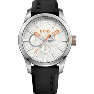 Reloj Hugo Boss  Silicone Negro Hombre