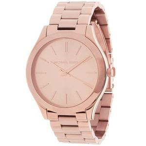 Reloj Michael Kors Para Mujer Rosa De Acero Inoxidable