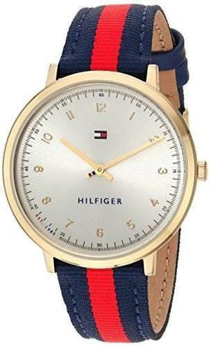 Reloj Tommy Hilfiger  Nylon Azul Y Rojo Mujer