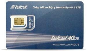Tarjeta Sim Telcel Mexico Prepaid 2gb Data Lte Fits All Devi