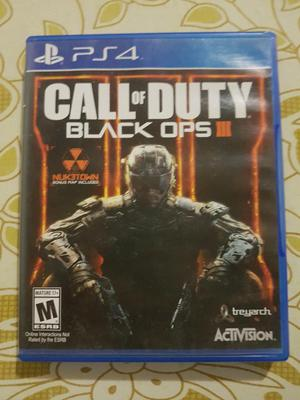 Vendo Call Of Duty Black Ops 3 para Ps4
