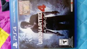 Vendo Cambio Uncharted 4
