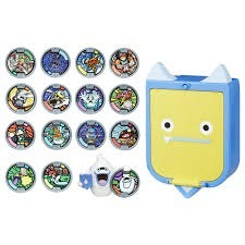 Yo Kai Caja Para Medallas 15 Medallas Figura Whisper