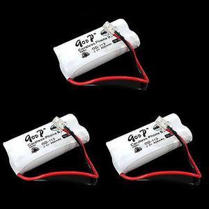3 Pc Inalámbrico Teléfono Batería 850mah 2.4v Ni-mh