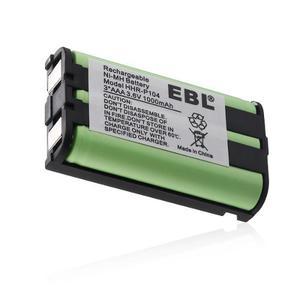 4 X Teléfono Inalámbrico Batería Para Panasonic Hhr-p104