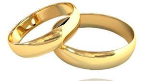 Argollas Matrimonio Oro Amarillo 18k C/u Garantia Compromiso