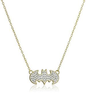 Collar De Mujer Dc Comics Batman Oro 18k