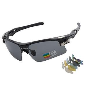 Gafas De Sol Deportivas Lvxing Lvx548 Para Hombre Polarizado