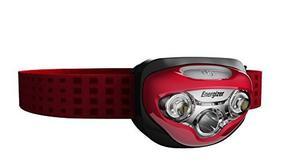 Linterna Frontal Led Energizer En Rojo