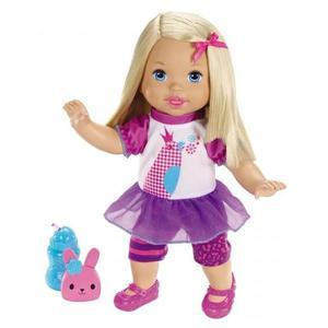 Muñeca Little Mommy Bebita Habla Conmigo Mattel + Obsequio