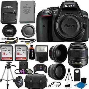 Nikon D Cámara Réflex Digital Cmos De 24.2 Mp (negro)