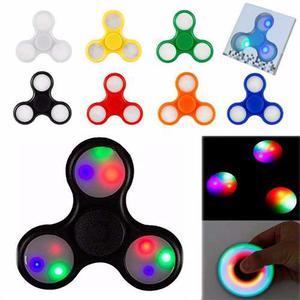 Spinner Fidget Con Luces Led