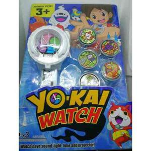 Yo-kai Watch Reloj Serie Animada Luces Y Sonido