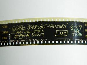 35mm Michael Jackson History Trailer Cine Coleccion
