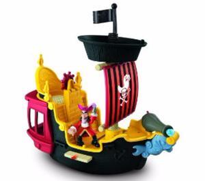 Barco Capitan Hook´s Para Niños Original Jake Y Los