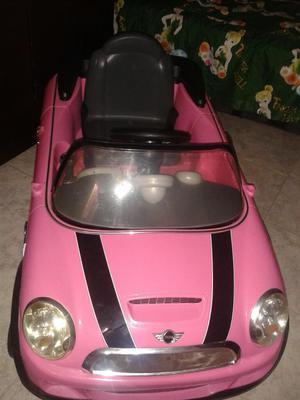 Carro de Bateria Mini Cooper.