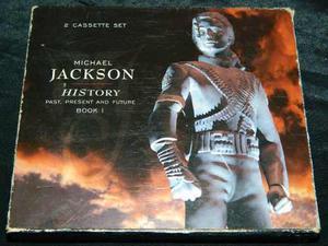 Cassette Michael Jackson History + Librillo