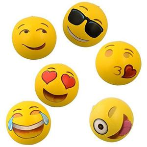 Flotador Inflable Para Piscina Emoji Universe: 12 Emoji Inf