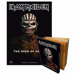 Iron Maiden The Book Of Souls Deluxe Edition Cd Sellado