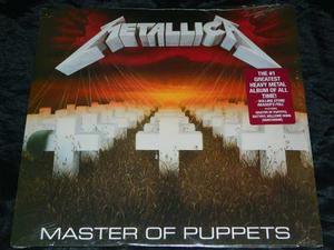 Lp Vinilo Metallica Master Of Puppets Nuevo Sellado Ed.usa