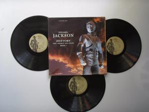 Lp Vinilo Michael Jackson History Past Present 3lps Col