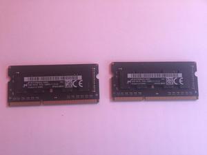 Memoria Ram 2 Modulos 2gb Macbook Pro 13 (mid )