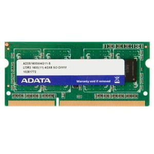 Memoria Ram Adata Ad3sw4g11-b, Ddr3, 4gb,  Mhz