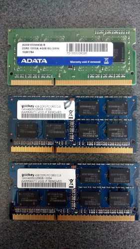 Memoria Ram Portatil Ddr3 4gb