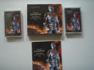 Michael Jackson History Cassette 2 + Libro Printed Usa