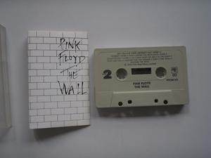 Pink Floyd The Wall Cassette Primera Edic Printed Usa