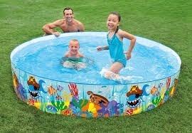 Piscina intex familiar m x 076 m piscina jardin posot class for Piscinas pequenas plastico duro
