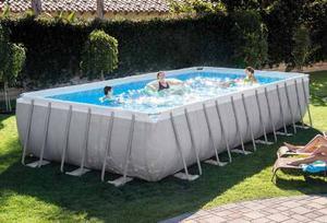 Oferta piscina estructural mediana posot class for Piscina estructural intex