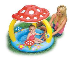 Piscina Inflabe Para Bebés Intex Con Forma De Champiñon