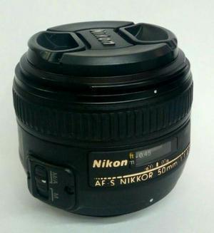 Lente Nikon 50mm F/1.4 Usado