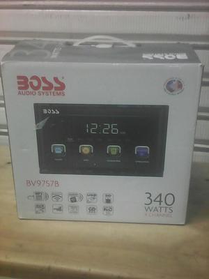 Radio Doble Dim Boss con Bluetooth