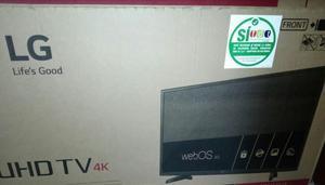 televisor led lg 43 pulgadas 4k uhd smar tv wifi web os tdt
