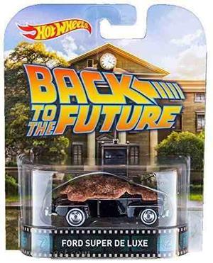 Auto Ford De La Película Volver Al Futuro - Hot Wheels