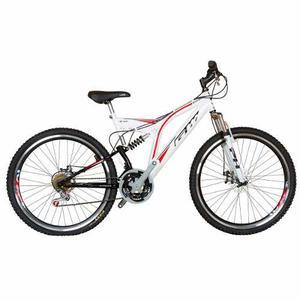 Bicicleta Gw Sinope 26 Freno De Disco Tipo Moto 18v - Blanco