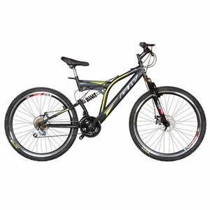 Bicicleta Gw Sinope 26 Freno De Disco Tipo Moto 18v - Negro