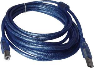 Cable Para Impresora Blindado Usb 2.0 X 10 Metros