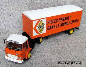 Camión Articulado Renault Escala 1:43