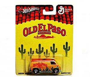 Hot Wheels Pop Culture Old El Paso Super Van !