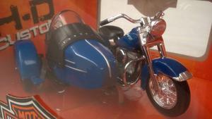 Motocicleta Harley Davidson A Escala 1/18