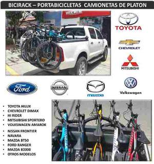 Porta Bicicleta Para Camionetas De Platon Portabicicletas
