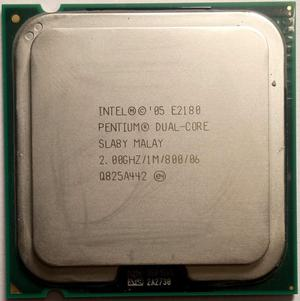 Procesador Intel Pentium 2.0 Ghz Dualcore E