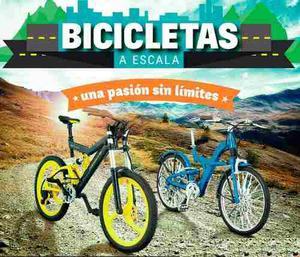 Promocion Coleccion Bicicletas A Escala X