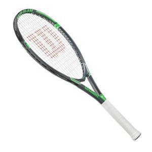 Raqueta De Tenis Wilson 4 3/8 Pulgadas, Negro / Verde
