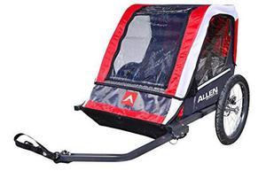 Remolque De Bicicleta De Acero Para Niños Allen Sports