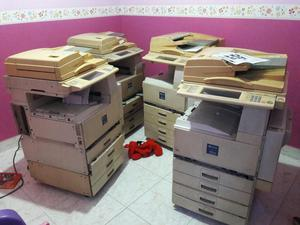 Vendo 4 Fotocopiadoras Ricoch