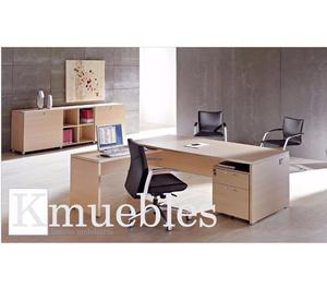 Venta e Instalacion de muebles de madera para Oficinas